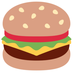 Hamburger Emoji on Twitter