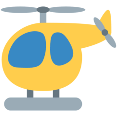 Helicopter Emoji on Twitter