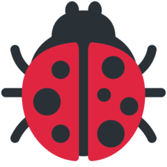 Lady Beetle Emoji on Twitter
