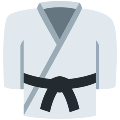 Martial Arts Uniform Emoji on Twitter