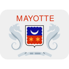 Flag: Mayotte Emoji on Twitter