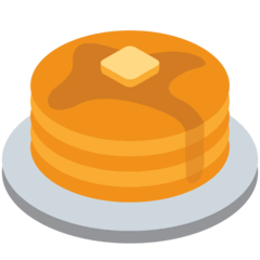 Pancakes Emoji on Twitter