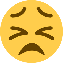 Persevering Face Emoji on Twitter