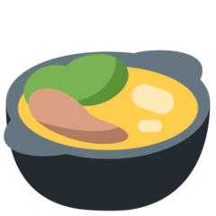 Pot of Food Emoji on Twitter
