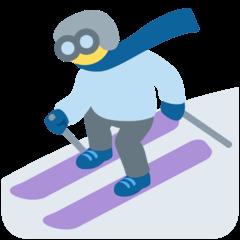 Skier Emoji on Twitter