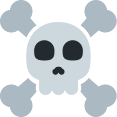 Skull and Crossbones Emoji on Twitter