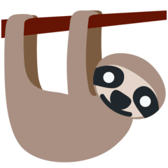 Sloth Emoji on Twitter
