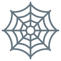 Spider Web Emoji on Twitter