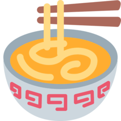Steaming Bowl Emoji on Twitter