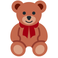 Teddy Bear Emoji on Twitter
