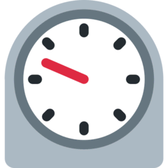 Timer Clock Emoji on Twitter