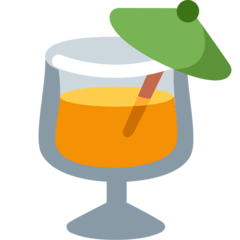 Tropical Drink Emoji on Twitter