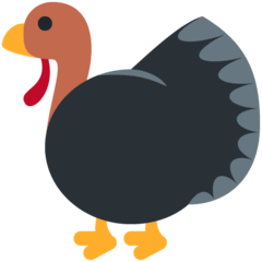 Turkey Emoji on Twitter