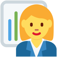 Woman Office Worker Emoji on Twitter