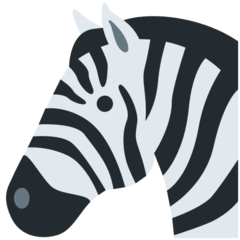 Zebra Emoji on Twitter