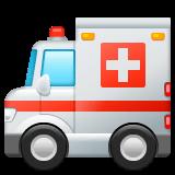 Ambulance Emoji on WhatsApp