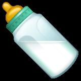 Baby Bottle Emoji on WhatsApp