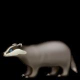 Badger Emoji on WhatsApp