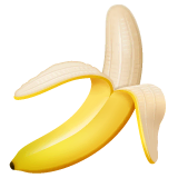 Banana Emoji on WhatsApp