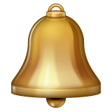 Bell Emoji on WhatsApp