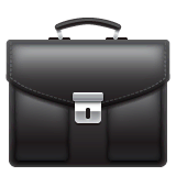 Briefcase Emoji on WhatsApp