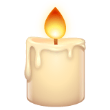 Candle Emoji on WhatsApp