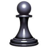 Chess Pawn Emoji on WhatsApp