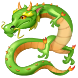 Dragon Emoji on WhatsApp