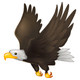Eagle Emoji on WhatsApp