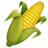 Ear of Corn Emoji on WhatsApp