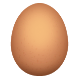 Egg Emoji on WhatsApp