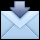 Envelope With Arrow Emoji on WhatsApp