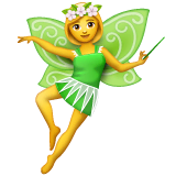 Fairy Emoji on WhatsApp