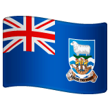 Falkland Islands Emoji on WhatsApp