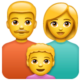 Family Emoji on WhatsApp