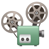 Film Projector Emoji on WhatsApp