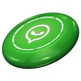 Flying Disc Emoji on WhatsApp