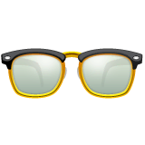 Glasses Emoji on WhatsApp