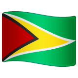 Guyana Emoji on WhatsApp