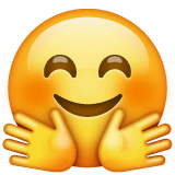 Hugging Face Emoji on WhatsApp