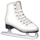 Ice Skate Emoji on WhatsApp