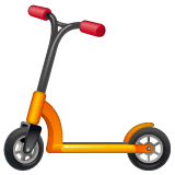 Kick Scooter Emoji on WhatsApp