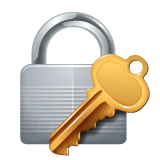Locked With Key Emoji on WhatsApp