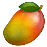 Mango Emoji on WhatsApp