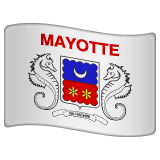 Flag: Mayotte Emoji on WhatsApp