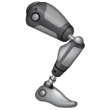 Mechanical Leg Emoji on WhatsApp