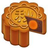 Moon Cake Emoji on WhatsApp