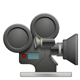 Movie Camera Emoji on WhatsApp