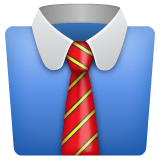 Necktie Emoji on WhatsApp