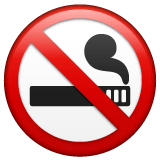 No Smoking Emoji on WhatsApp